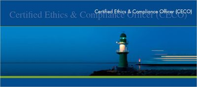 Zertifikatsstudiengang certified ethics compliance officer ceco rudolf x ruter - Ethics compliance officer ...