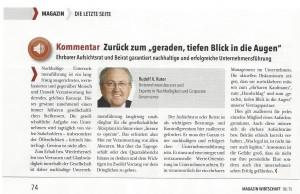 IHK Region Stuttgart Magazin Sommer 2015