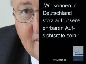 Rudolf X. Ruter - Stolz in Deutschland