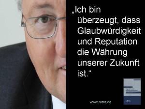 Rudolf X. Ruter - Glaubwürdigkeit und Reputation - Tugenden eines ehrbaren Aufsichtsrats