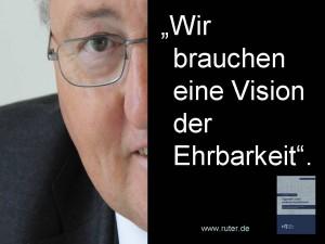 Rudolf X. Ruter - Vision der Ehrbarkeit - Tugenden eines ehrbaren Aufsichtsrats